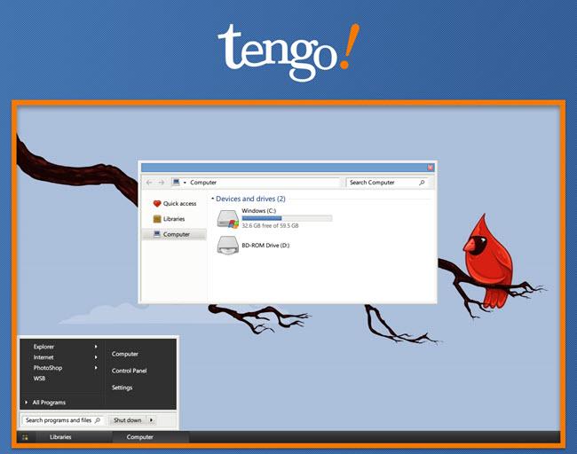 Windows 10 için Tengo Teması İndir
