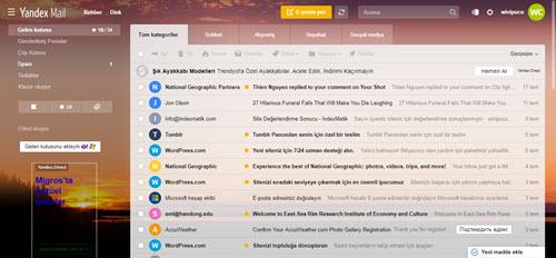 Yandex ücretsiz mail hesabı aç